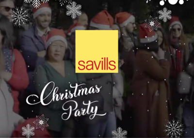 Savills – Christmas Team Building Party